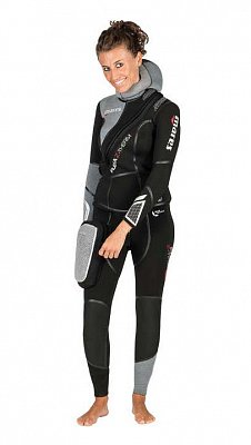 FLEXA wetsuit Stuten THERM She Dives - Frauen neue 2019 5 - L