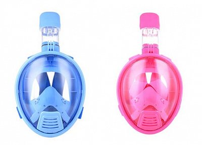 FULL Schnorcheln MASK + PLOUTVR Fluid - Baby Set Rosa XS 31-33