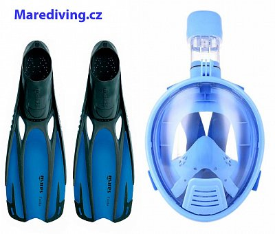 VOLL Schnorchel MASK + PLOUTVR Fluid - Kinder-Set